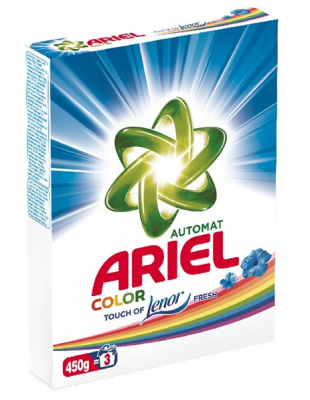 Порошок ARIEL Touch of Lenor Fresh автомат 450г