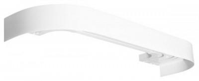 Карниз СТАНДАРТ 340см. 3-х рядный белый купить в Ижевске по низкой цене - Стройландия